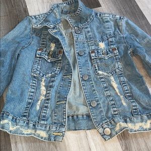 true religion denim jean jacket